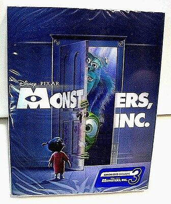 Disney Monsters Inc lenticular from KimchiDVD Korea* blu-ray steelbook.New.