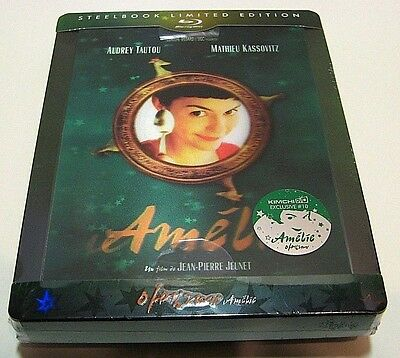 Amelie lenticular type C from Korea* KimchiDVD blu-ray steelbook.New,sealed