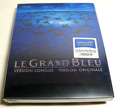 Le Grand Bleu lenticular from Korea* KimchiDVD blu-ray steelbook.New and sealed.