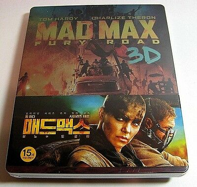 Mad Max Fury Road from Korea* NovaMedia blu-ray steelbook.New and sealed.