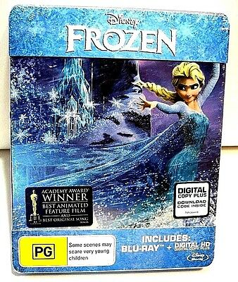 Disney Frozen from Australia* blu-ray steelbook.New and sealed.