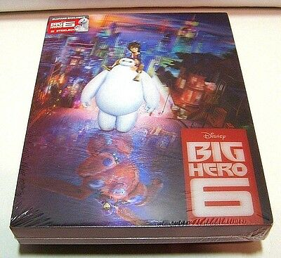 Big Hero 6 lenticular from China* Blufans blu-ray steelbook.New and sealed.