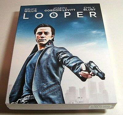 Looper from Czech* FilmArena blu-ray steelbook.New and sealed.