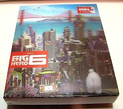 Big Hero 6 Ultimate Edition from China* Blufans blu-ray steelbook.New and sealed