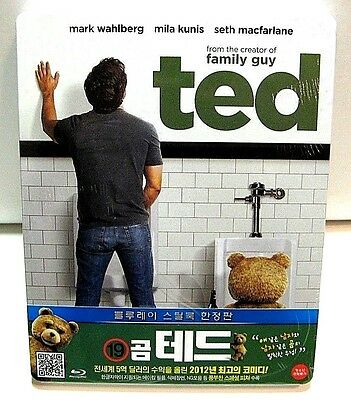 Ted from Korea* blu-ray steelbook.New and sealed.