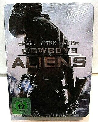 Cowboys & Aliens Metal Box Set from Germany* with a blu-ray steelbook.New,sealed