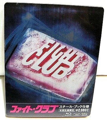 Fight Club from Japan* blu-ray steelbook.New and sealed.