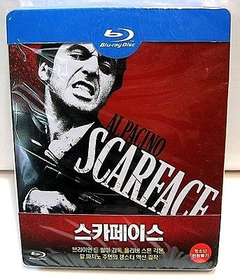 Scarface from Korea* blu-ray steelbook.New and sealed.