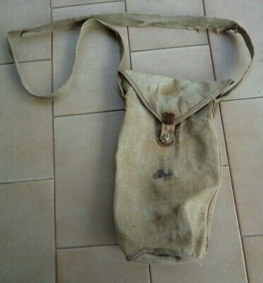 Custodia Maschera Antigas T35 Gas Mask Case REI WW2 WWII seconda guerra TGII ITA