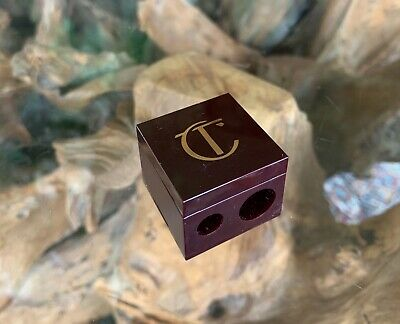 Genuine Charlotte Tilbury Double Cube Pencil Sharpener