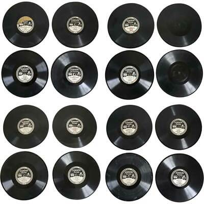 16 Antique American Edison Diamond Disc Phonograph Records 1911-29
