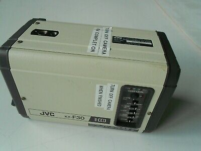 JVC KY-F30. 3.CCD. Microscope Color Video Camera. Free UK P&P.