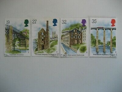 Gb 1989 Industrial Archaeology Full Set Sg 1440/3 Very Fine Used Stamps