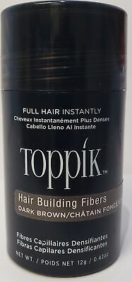 Toppik Hair Building Fibers - Dark Brown | Brand New