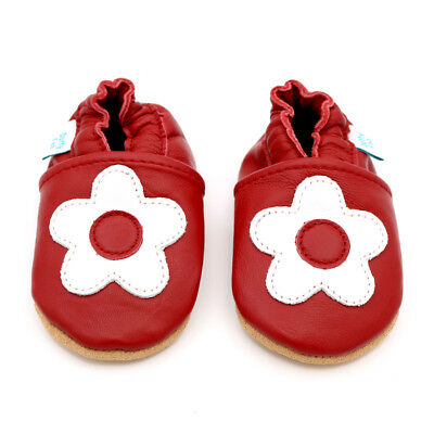 *DISCONTINUED* Dotty Fish Soft Leather Baby and Toddler Shoes