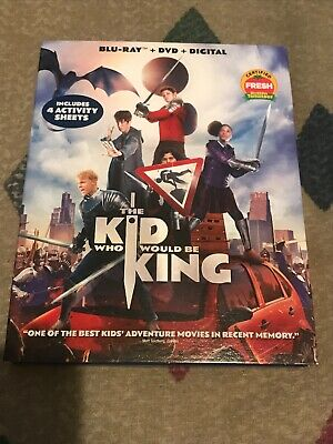 The Kid Who Would Be King (Blu-ray and DVD, 2019) Patrick Stewart - No Digital
