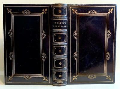 1830 Pickering Imprint. Superb Binding. 'Lancelot Andrews Devotions' Liturgy