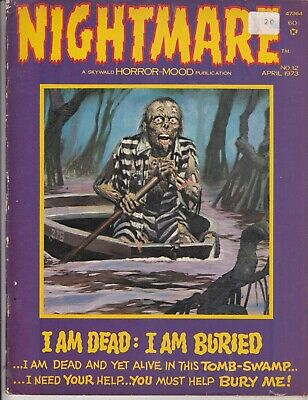 Nightmare  No 12  April 1973     Skywald