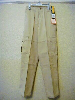 M&S Boys Pure Cotton Cargo Trousers - Age 11 - New With Tags