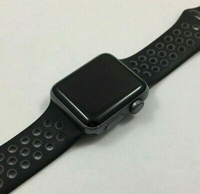 Apple Watch Series 2 38mm Space Gray Nike+  Fully Functional 90 DAY WARRANTY