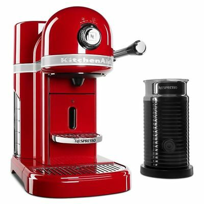 Nespresso By Kitchenaid Espresso Machine W Milk Frother
