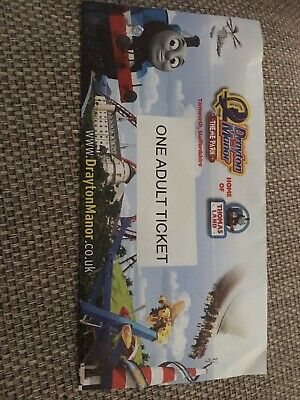 Drayton Manor Park Adult Ticket