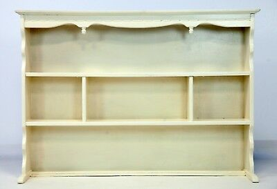 Old Charm Shelving Unit Painted Farrow & Ball Off White UK Delivery Available