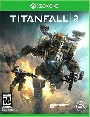 Titanfall 2 (Microsoft Xbox One, 2016) BRAND NEW FACTORY SEALED VIDEO GAME