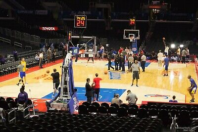Golden State Warriors @ Los Angeles Clippers 2 tickets 4/11/20 Sec 106 Row 15