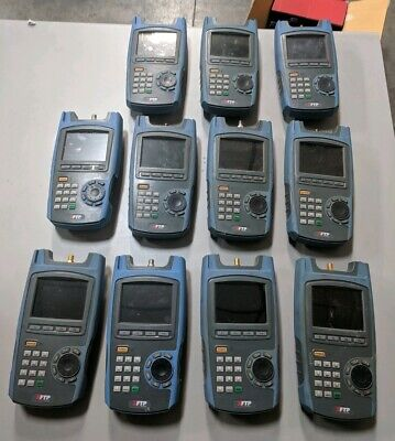 Lot of 11x Trilithic XFTP Network Analyzer MISSING BACKS SOLD FOR PARTS/REPAIR