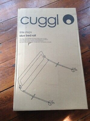 Cuggl Bed Rail Brand NEW In Box Little Steps Blue Bed Rail BOY GIRL BED SAFTY