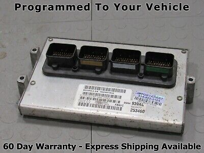 "2002 Jeep Liberty 3.7L Computer 56041606 ECU ECM PCM /""Programmed to your VIN/"""