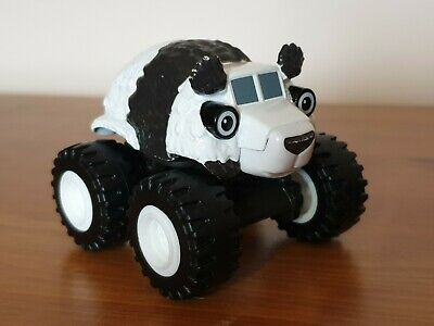 Blaze And The Monster Machines Die Cast Toy - Rare Panda Bear Truck
