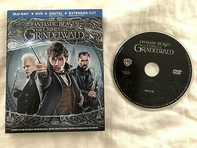 Fantastic Beasts The Crimes Of Grindelwald Standard DVD Bluray Slipcase Digital