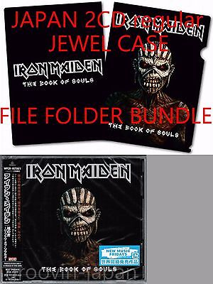 Sigillato! Raccoglitore Set Iron Maiden The Book Of Souls Giappone 2CD Normale