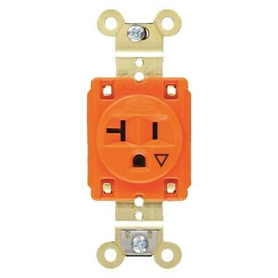 HUBBELL Straight blade receptacle IG5361 2 Pole 3 Wire Qty 10
