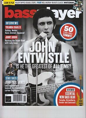 John Entwistle Bass Player Magazine June 2019 Greatest Of All Time? The Who