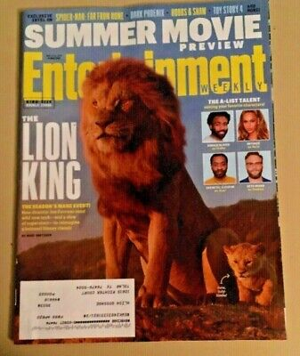 The Lion King Mane Event Beyonce Disney Simba Entertainment Weekly May 2019 F