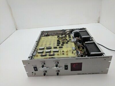 Precision Vactronics Programmable Position Controller J-1 Interface Tested