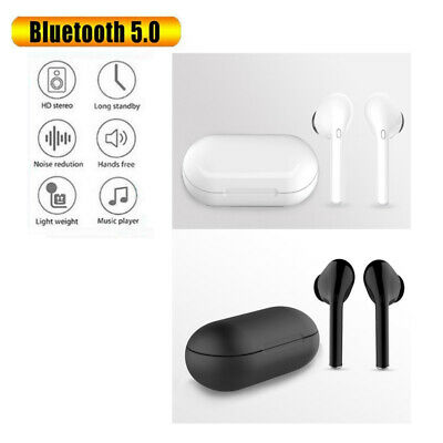 Dual Wireless Bluetooth Earphones Headphones Earbuds for Apple iPhone Android AU