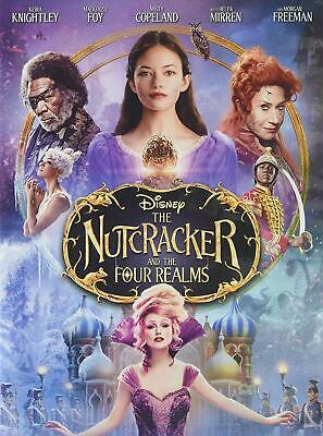 The Nutcracker and the Four Realms DVD - AUTHENTIC w/VALID Disney Rewards Points