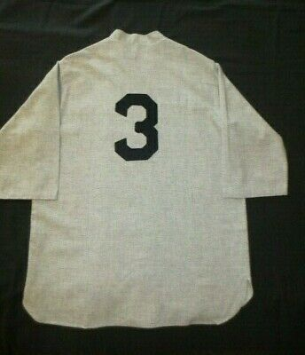 27d9100ae74 BABE RUTH NEW York Yankees 1929 Mitchell & Ness Jersey XL - $64.99 ...