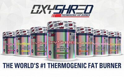 Ehplabs Oxyshred Ehp Labs Oxy Shred Thermogenic Fat Burning Weight Loss
