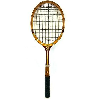 Vintage 1940s Spalding Tennis Racquet Olympic