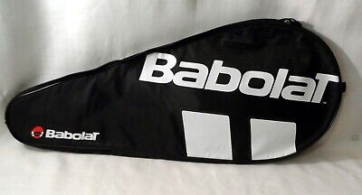 Babolat Tennis Racket Racquet Travel Bag Case Black White, New w/out Tags
