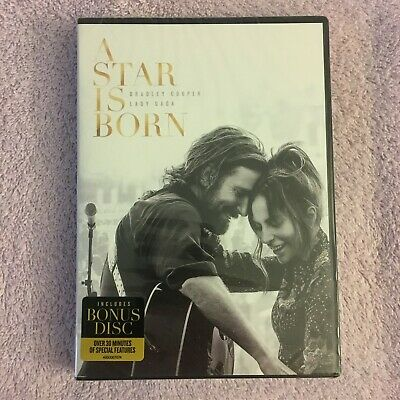 A Star Is Born (DVD, 2018, 2-Disc Set) Brand New Sealed