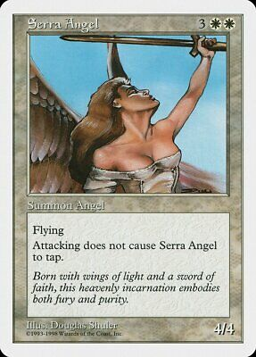 Serra Angel Anthologies PLD White Special MAGIC THE GATHERING CARD ABUGames