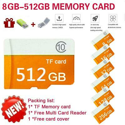 New Micro TF SD Memory Card Class 10 For Phone PC Driving Recorder 8GB-64GB