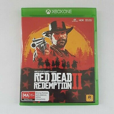 Red Dead Redemption II 2 Xbox One LIKE NEW Condition Aussie PAL CIB Complete