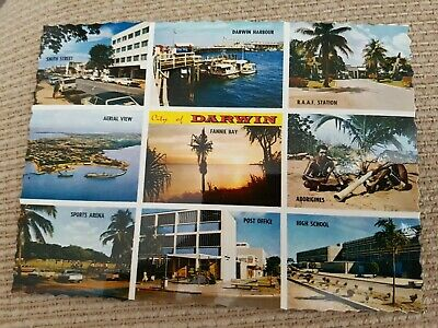 Collectible Postcard 1960s/70s/80s UNUSED City of Darwin N.T.